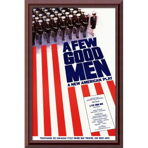 Amanti Art A Few Good Men Framed Graphic Art