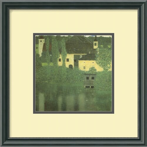 'Schloss Unterach on the Attersee' by Gustav Klimt Framed Painting Print
