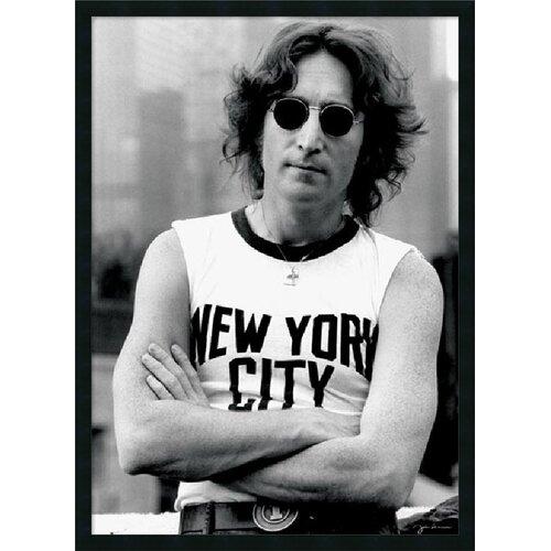 John Lennon - NYC Framed Photographic Print