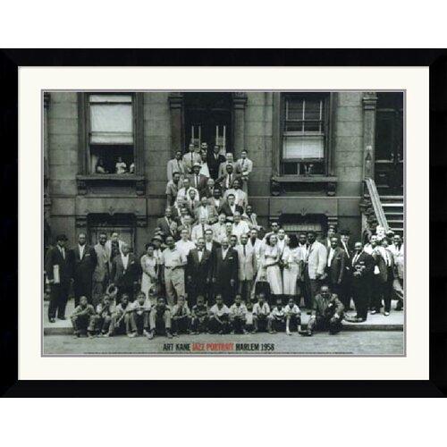 Amanti Art 'Jazz Portrait- Harlem' by Art Kane Framed Photographic Print
