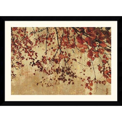 Amanti Art 'Colorful Season' by Pela and Silverman Framed Painting Print