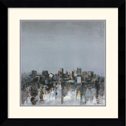 Amanti Art 'City Trance II' by Kemp Framed Painting Print