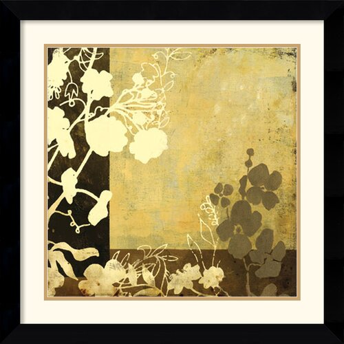 'Symphony in Bronze I' by Kemp Framed Painting Print
