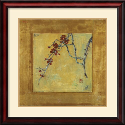 'Chinese Blossoms II' by Jill Barton Framed Painting Print