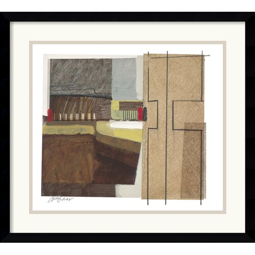 Amanti Art 'Syncopated Rhythm Two' by Craig Alan Framed Painting Print