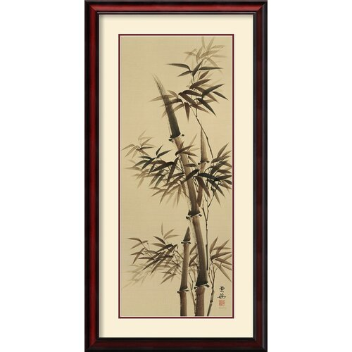 Amanti Art 'Bamboo Forever II' by Kee Hee Lee Framed Painting Print