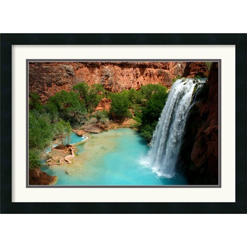 Amanti Art 'Desert Oasis' by Andy Magee Framed Photographic Print