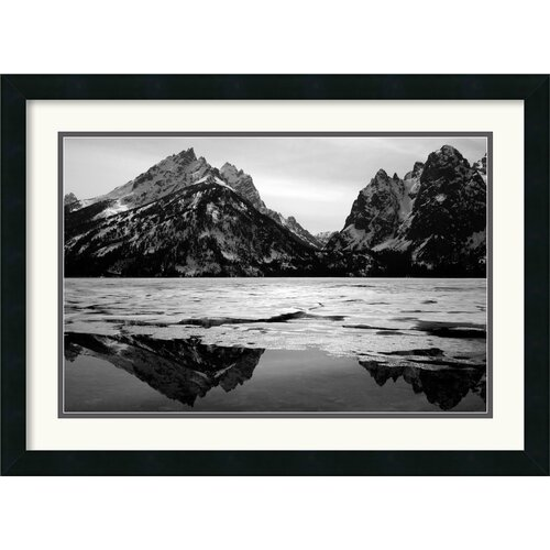 'Teton Winter' by Andy Magee Framed Photographic Print