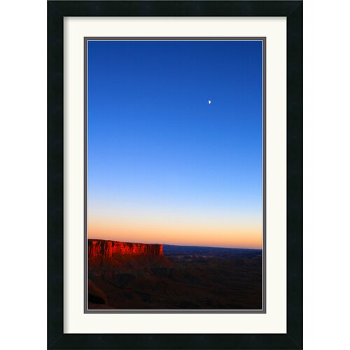Amanti Art 'Moon Over Canyonlands' by Andy Magee Framed Photographic Print