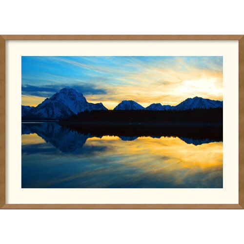 'Teton Sunset' by Andy Magee Framed Photographic Print