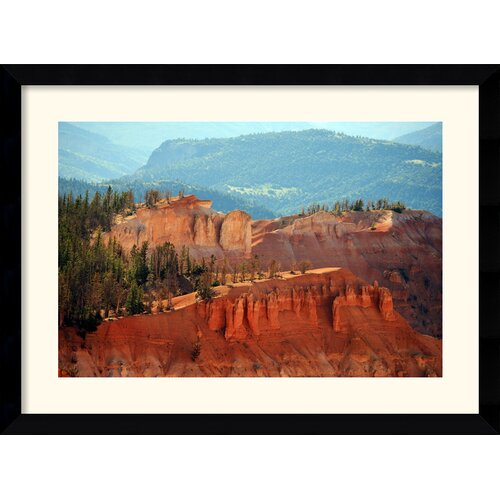 Amanti Art 'Cedar Breaks (Utah)' by Andy Magee Framed Photographic Print
