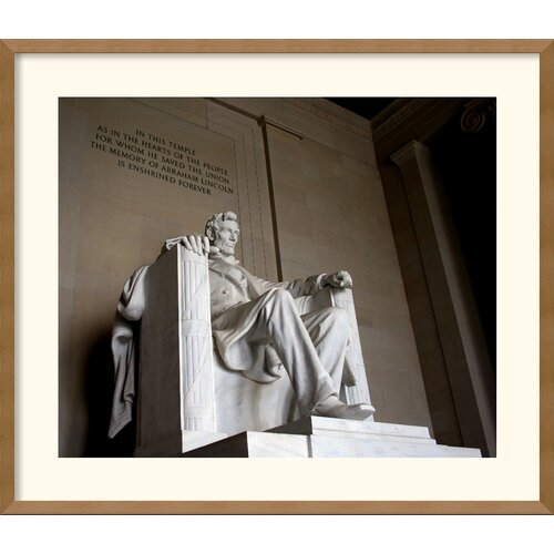 Amanti Art 'Lincoln' by Andy Magee Framed Photographic Print