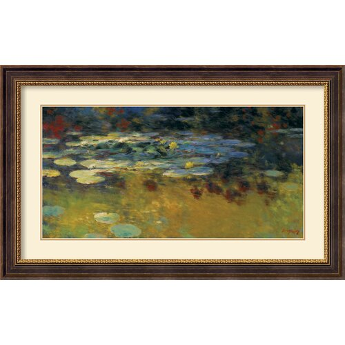 Amanti Art 'Tranquil Formation' by Greg Singley Framed Painting Print