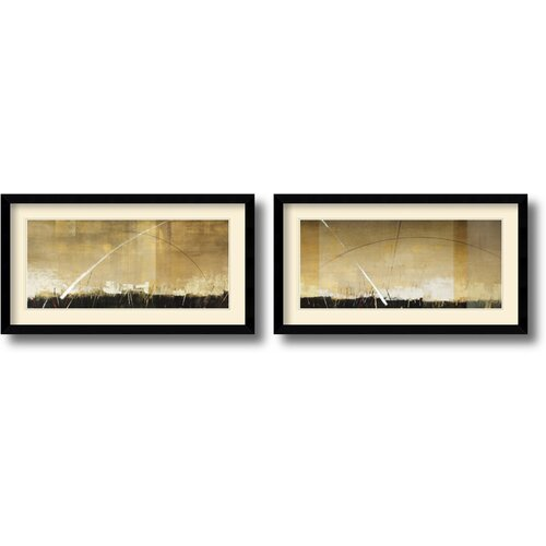 Amanti Art 'Arch Light' by Sebastian Alterera 2 Piece Framed Painting Print Set