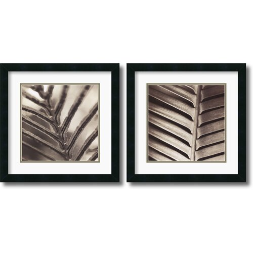 'Abstraction' by Jesse Canales 2 Piece Framed Photographic Print Set