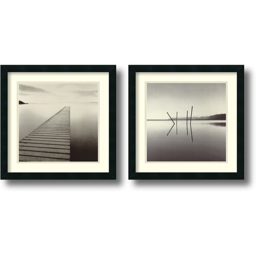 'Michael Kenna One' by Michael Kenna Framed Photographic Print (Set of 2)