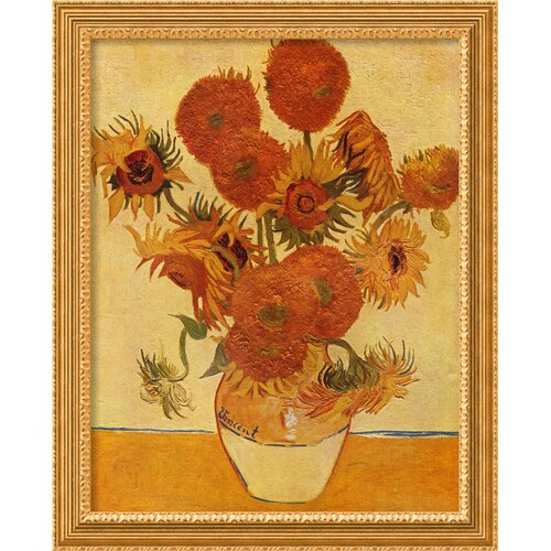 Amanti Art Sunflowers, 1888 Framed Graphic Art