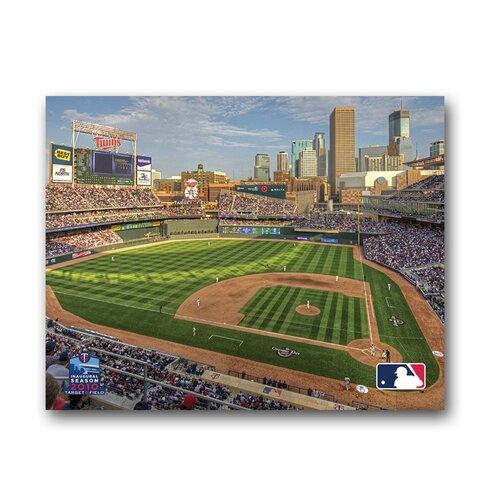 Artissimo Designs MLB Stadium Photographic Print on Canvas