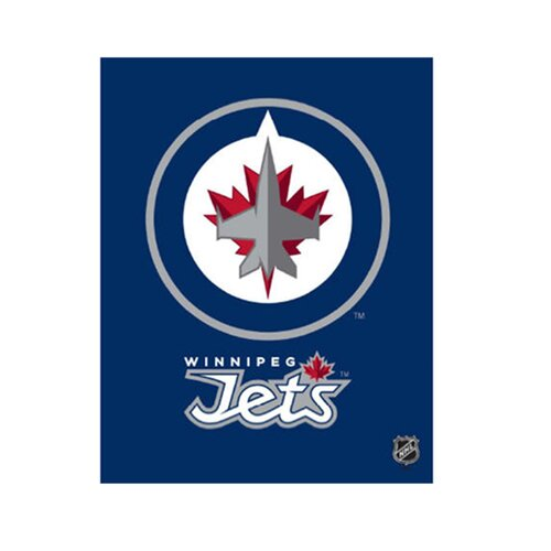 Artissimo Designs Winnipeg Jets Logo Graphic Art on Canvas