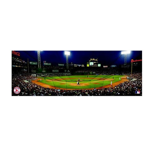 Artissimo Designs MLB Panoramic Photographic Print on Canvas