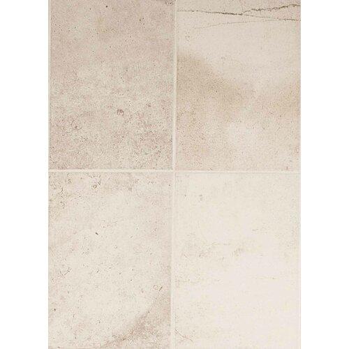 """American Olean Costa Rei 14"""" x 10"""" Glazed Field Tile in Pietra Bianco"""