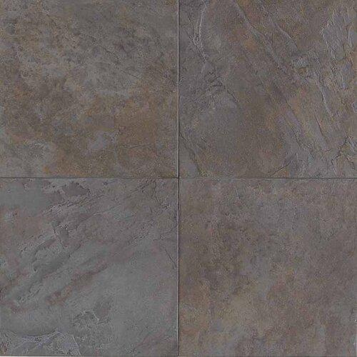 "American Olean Highland Ridge 6"" x 6"" Colorbody Porcleain Field Tile in Autumn"