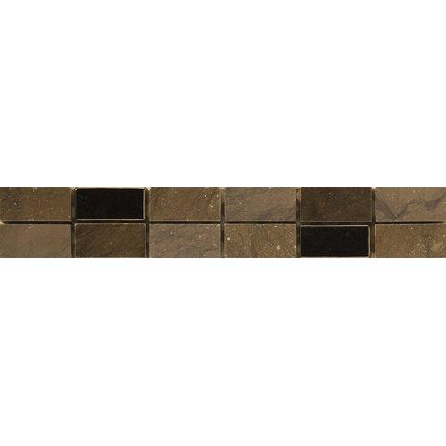 "Emser Tile Natural Stone 12"" x 2"" Limestone Lazio Listello"