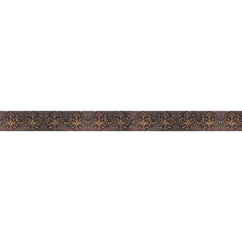 """Emser Tile Camelot 12"""" x 1"""" Merlin Liner in Bronze"""