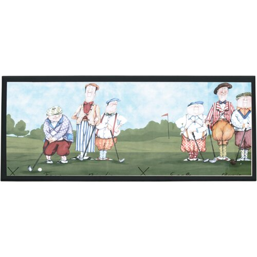 Illumalite Designs Whimsy Golf Painting Print on Plaque