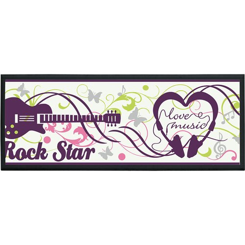 Rock Stars Wall Plaque