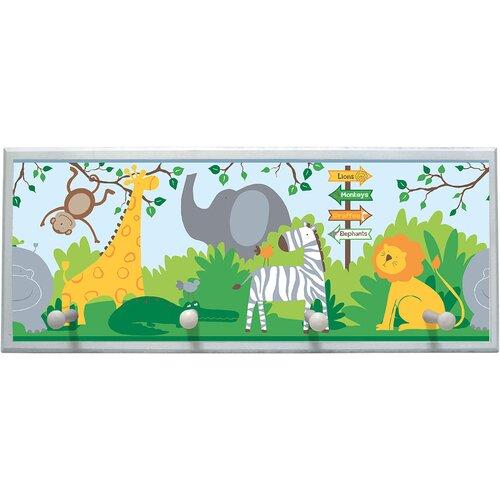 Zoo Animals Framed Graphic Art