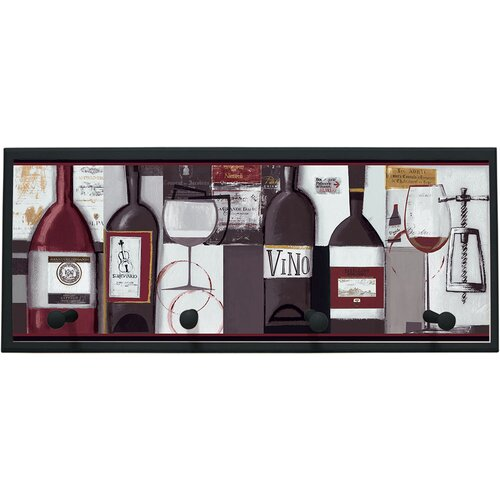 Illumalite Designs Wine Bottle Framed Painting Print