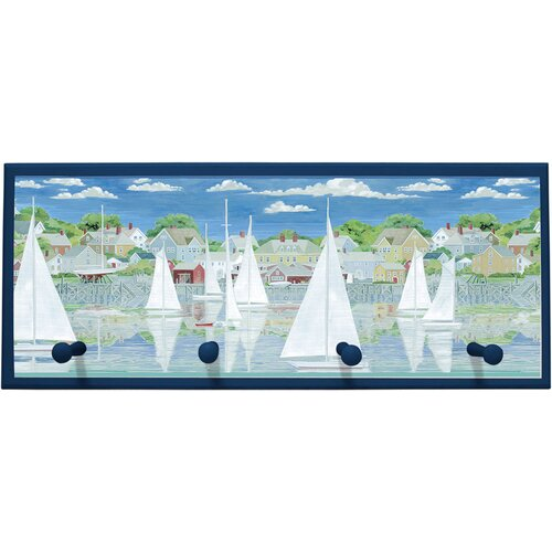 Illumalite Designs Racing Yachts Framed Painting Print
