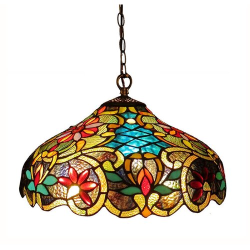 Victorian 2 Light Leslie Ceiling Bowl Pendant