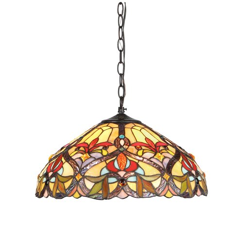 Victorian 2 Light Byron Ceiling Bowl Pendant