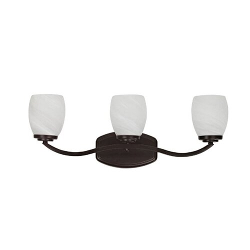 Chloe Lighting Perennial Trinity 3 Light Bath Vanity Light