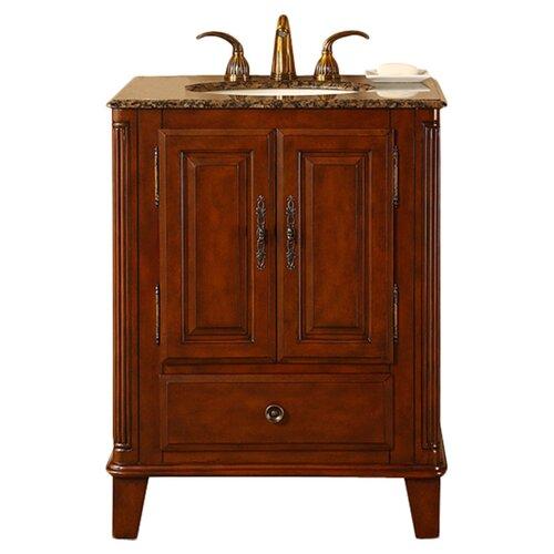 """Silkroad Exclusive Allegheny 28"""" Single Bathroom Vanity Set"""