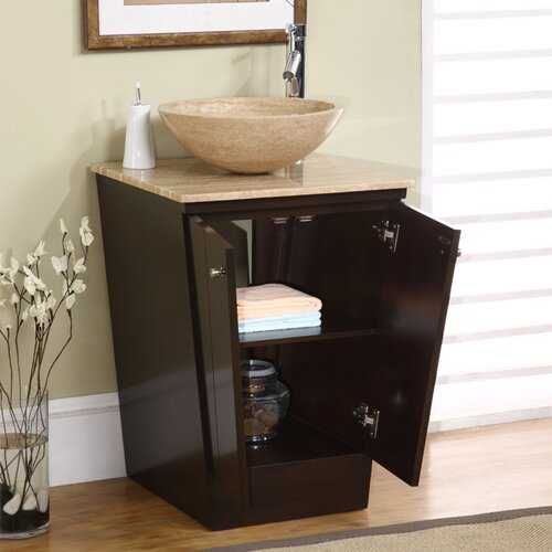 "Silkroad Exclusive Bennington 22"" Single Bathroom Vanity Set"