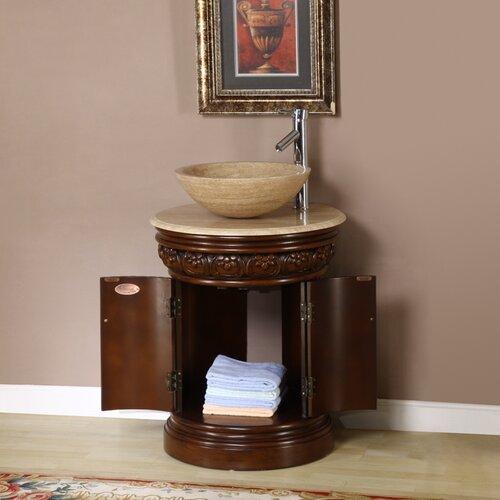 """Silkroad Exclusive Monmouth 24"""" Single Bathroom Vanity Set"""