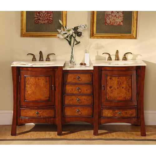 Northampton 67quot; Double Bathroom Vanity Set amp; Reviews  Wayfair