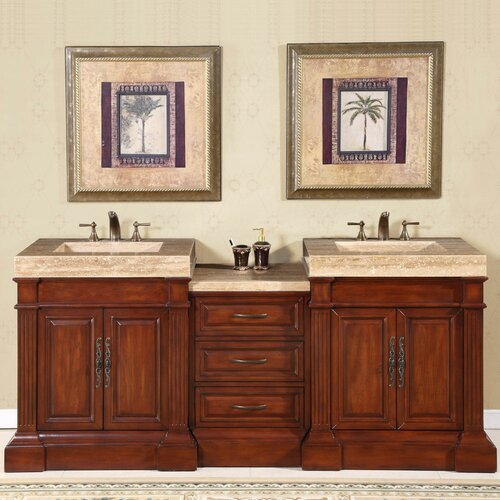 silkroad exclusive stanton 83 double bathroom vanity set reviews