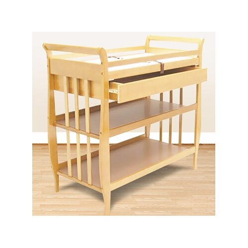 Sleigh Changing Table