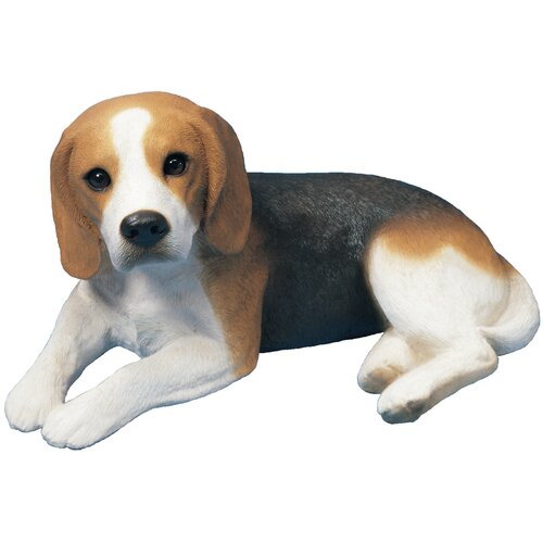 Sandicast Original Size Sculptures Beagle Figurine