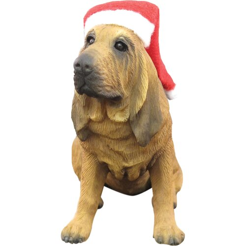 Sandicast Bloodhound Christmas Ornament