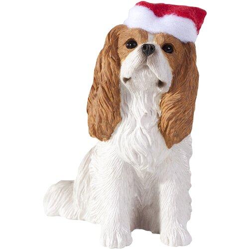 Sandicast Blenheim Cavalier King Charles Christmas Tree Ornament