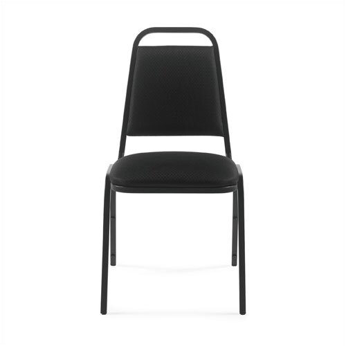 Offices To Go Stacking Chair with Coated Frame
