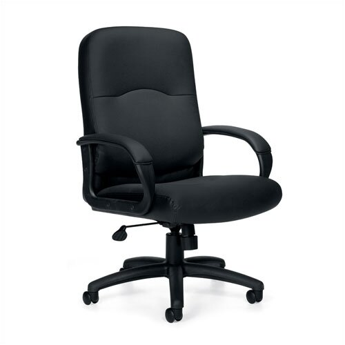 Offices To Go High-Back Leather Executive Chair