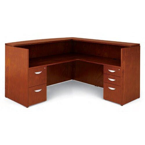 Offices To Go Ventnor L-Shape Reception Desk