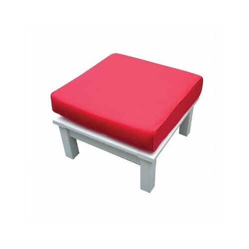 Seaside Casual Nantucket Ottoman with Cushion