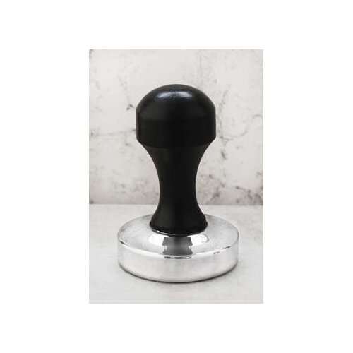 Stainless Steel and Wood Espresso Tamper
